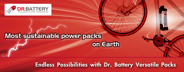 Dr. Battery E-Bike Battery Packs
